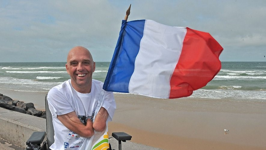 Toulouse : Philippe Croizon invité à la Cité de l'Espace