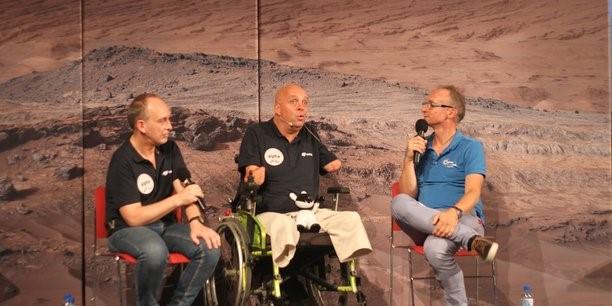 Philippe Croizon : «Quand j'ai vu les projets d'Elon Musk, je me suis dit pourquoi pas moi ? «